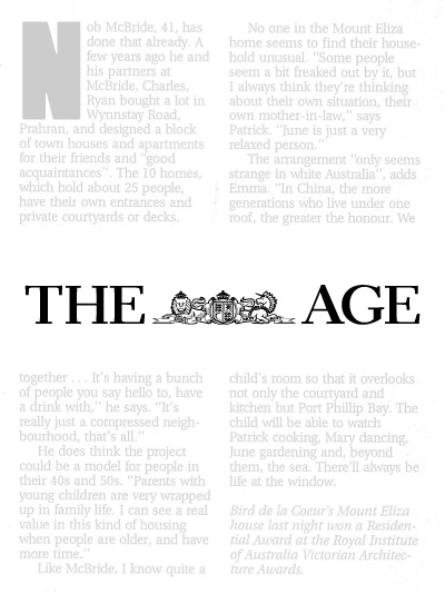 Age Newspaper Logo Journal Awards | Bird de la