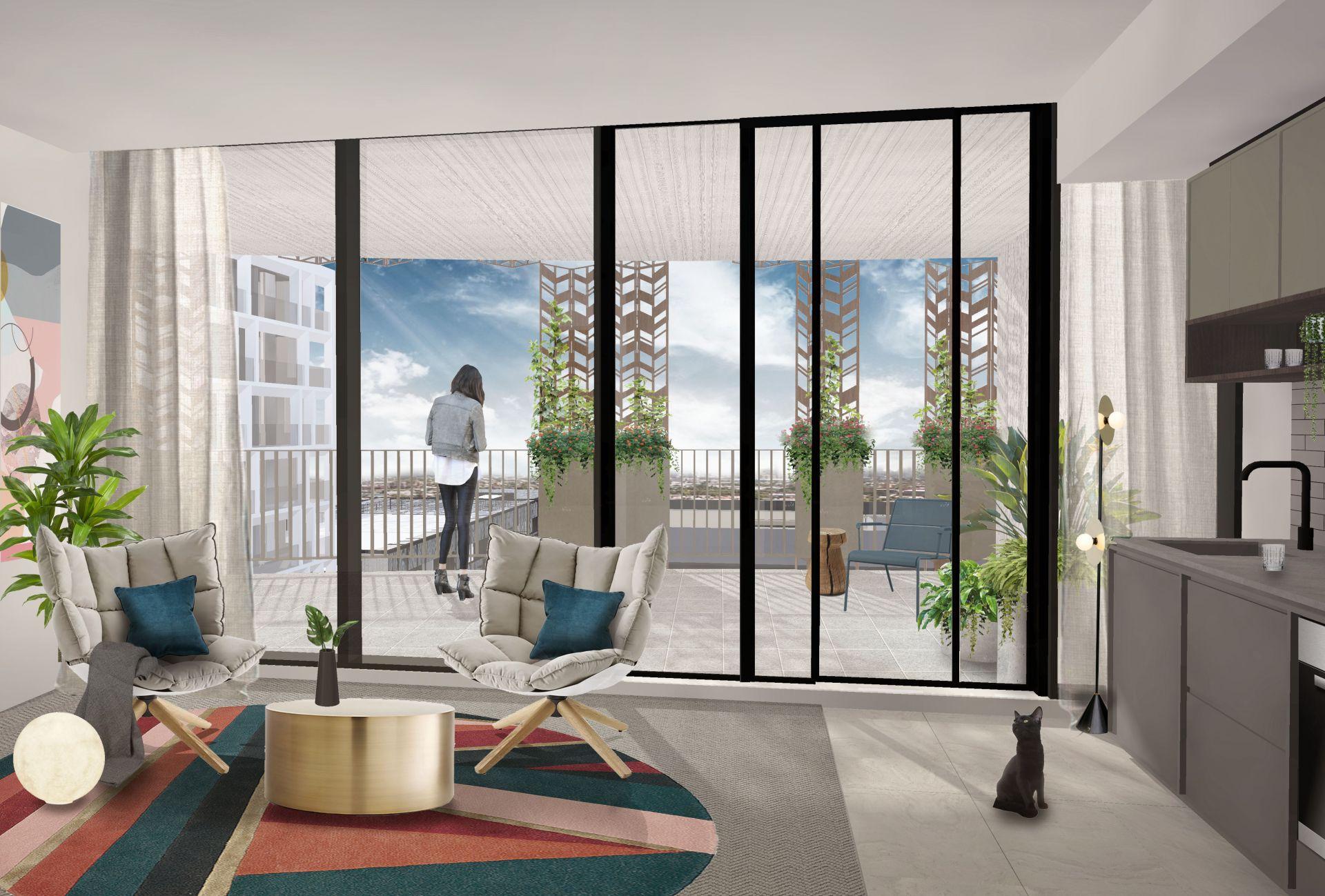 Living matrix apartment internal